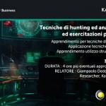Tecniche di hunting e analisi APT ed esercitazioni pratiche