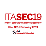 ITASEC19 Italian Conference on Cybersecurity