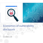 Economics of vulnerability disclosure