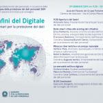 """""""I confini del digitale. Nuovi scenari per la protezione dei dati"""""""