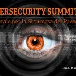 CYBERSECURITY SUMMIT - Il Digitale per la Sicurezza del Paese