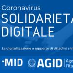 Solidarietà digitale ai tempi del corona virus: la digitalizzazione a supporto di cittadini e imprese